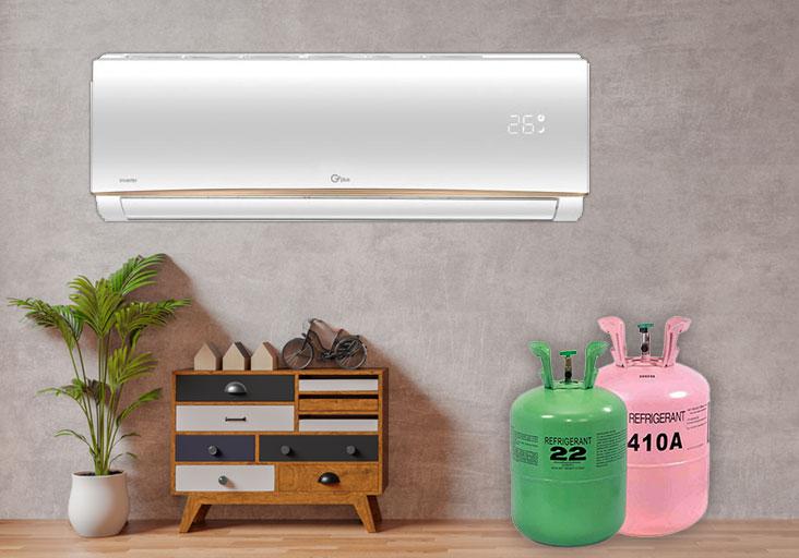 معرفی چند گاز مبرد دستگاه های تبریدی (کولر گازی، داکت اسپلیت و...)